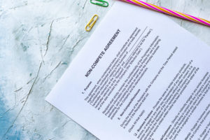 non-compete agreement contract